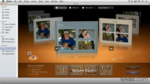 Welcome: Creating Photo Books with iPhoto