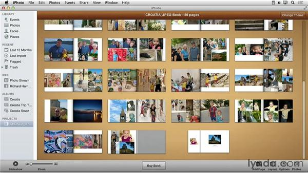 The importance of ordering your photos: Creating Photo Books with iPhoto