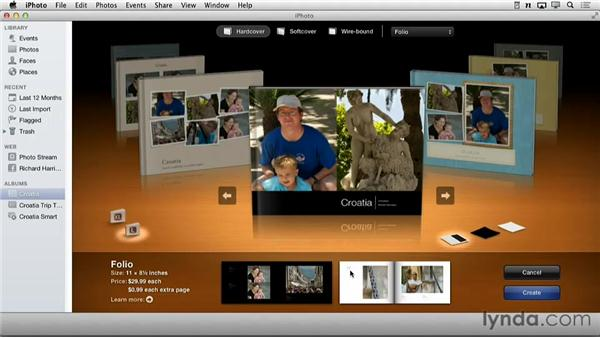 Book themes iphoto