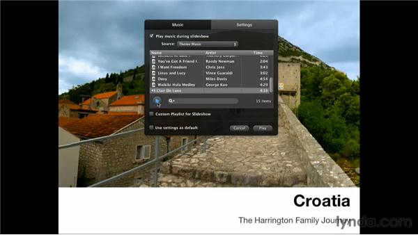 Why create a slideshow?: Creating Photo Books with iPhoto