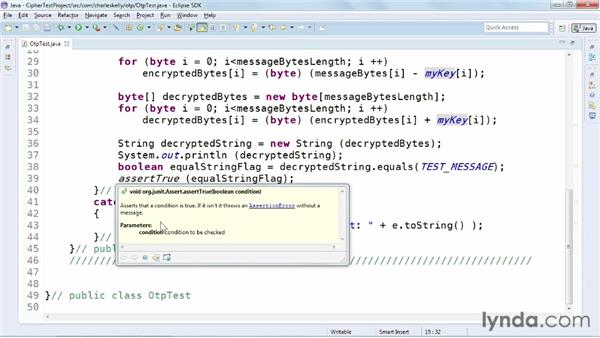 Refactoring code and using Javadoc: Up and Running with Eclipse
