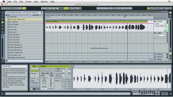 Listening to stems and deciding on the musical direction: Remixing Techniques: Arranging and Song Form