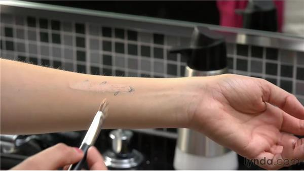 Applying body makeup and covering tattoos: On Camera: Video Makeup Techniques