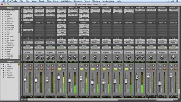 Welcome: Mixing a Hip-Hop and R&B Song in Pro Tools