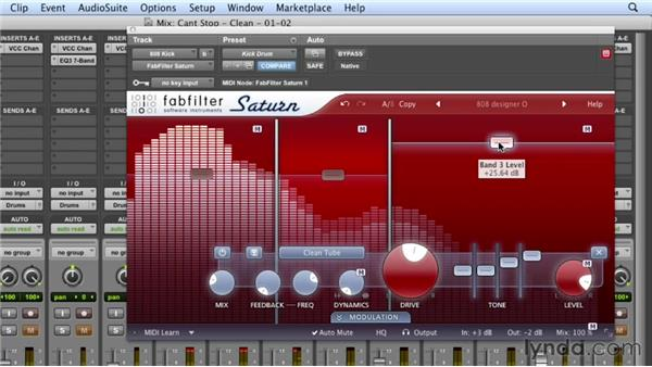 Building the kick drum layer: Mixing a Hip-Hop and R&B Song in Pro Tools
