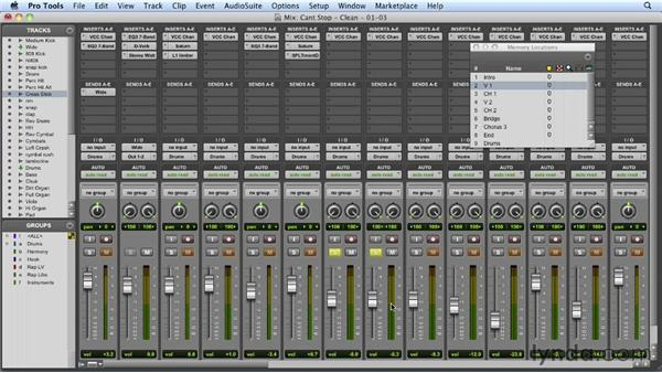 Layering the snares: Mixing a Hip-Hop and R&B Song in Pro Tools