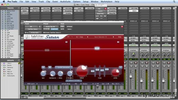 Working with the claps and hi-hats: Mixing a Hip-Hop and R&B Song in Pro Tools