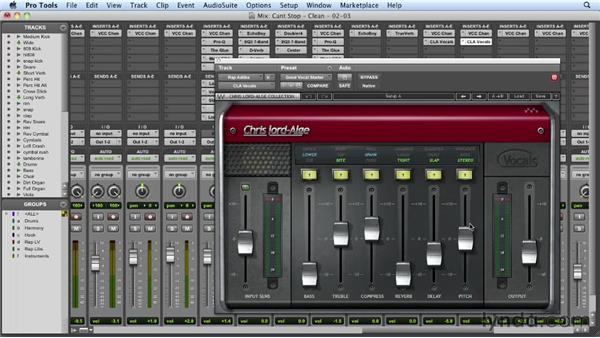 Adding the rap stabs: Mixing a Hip-Hop and R&B Song in Pro Tools