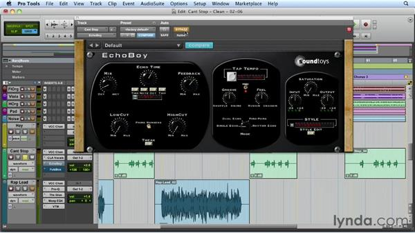 Processing the FX vocals: Mixing a Hip-Hop and R&B Song in Pro Tools