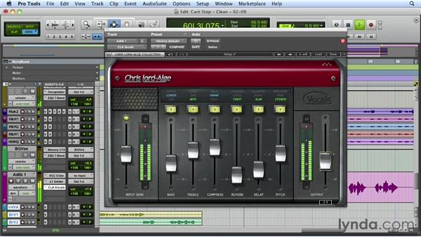 Working in the ad lib vocals: Mixing a Hip-Hop and R&B Song in Pro Tools