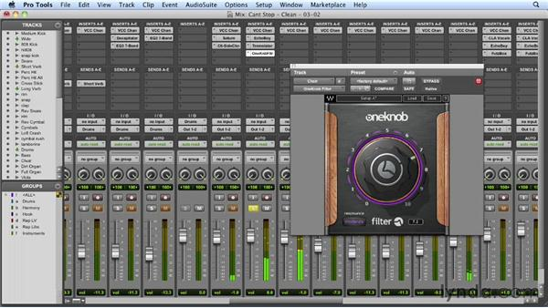 Adding drama to the choir track: Mixing a Hip-Hop and R&B Song in Pro Tools