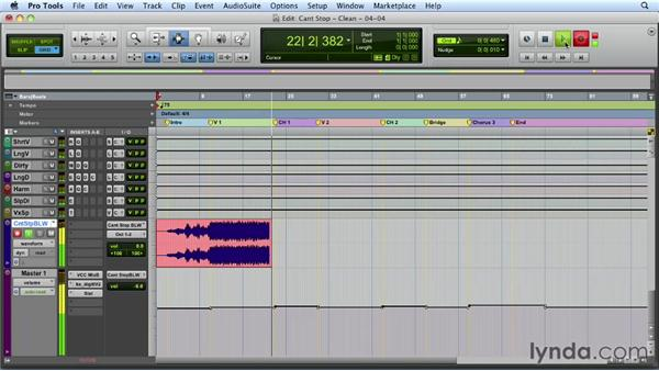 Printing the final stereo mix: Mixing a Hip-Hop and R&B Song in Pro Tools
