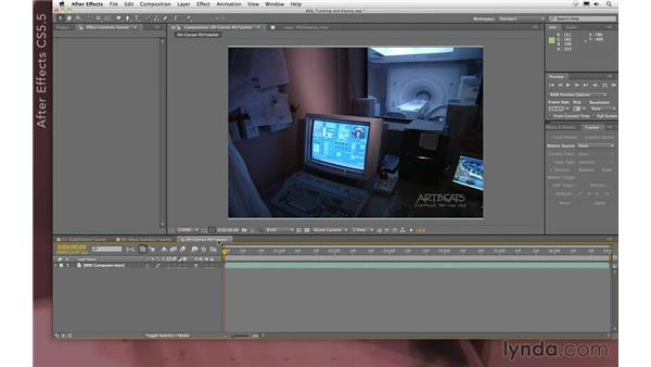 The Tracker panel: After Effects Apprentice 12: Tracking and Keying