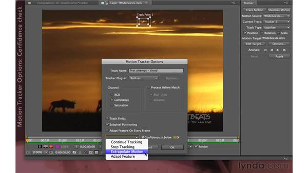 Performing a track: After Effects Apprentice 12: Tracking and Keying