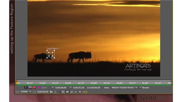 Performing a motion track: After Effects Apprentice 12: Tracking and Keying