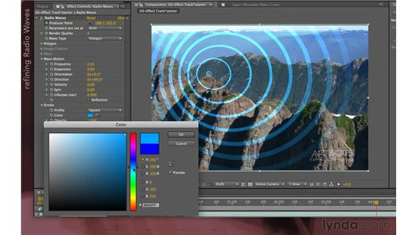 Compositing the effect: After Effects Apprentice 12: Tracking and Keying
