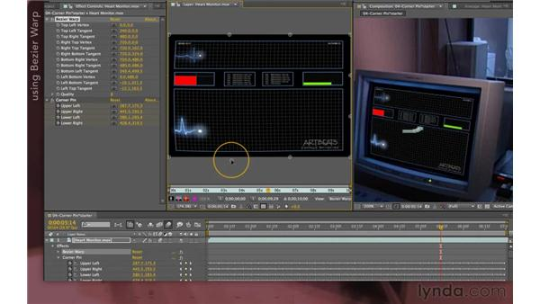 Improving the composite: After Effects Apprentice 12: Tracking and Keying