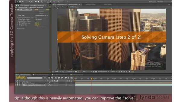 Tracking in 3D (new in CS6): After Effects Apprentice 12: Tracking and Keying