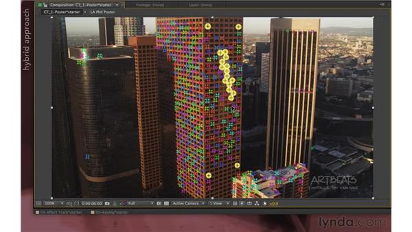 Creating 3D objects (new in CS6): After Effects Apprentice 12: Tracking and Keying