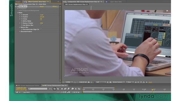 : After Effects Apprentice 13: Paint, Roto, and Puppet