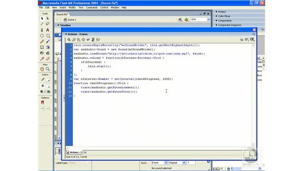 load progress: ActionScript 2.0 Essential Training