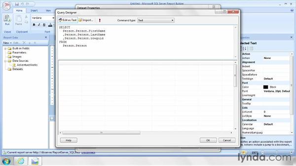 Sorting data in a data region: SQL Server Reporting Services in Depth