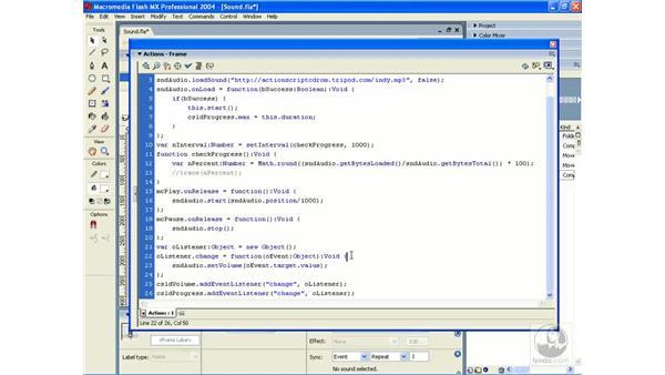 playback: ActionScript 2.0 Essential Training