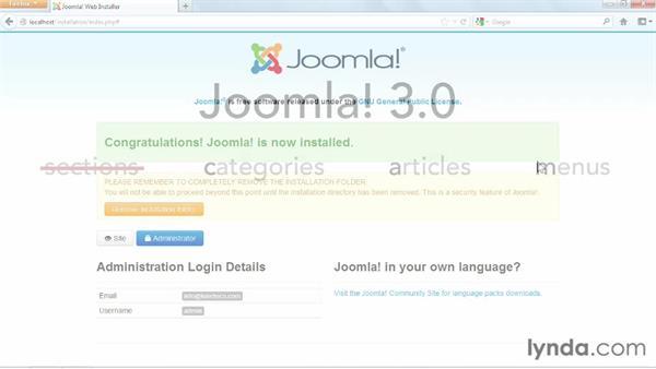 Welcome: Joomla! 3 Essential Training