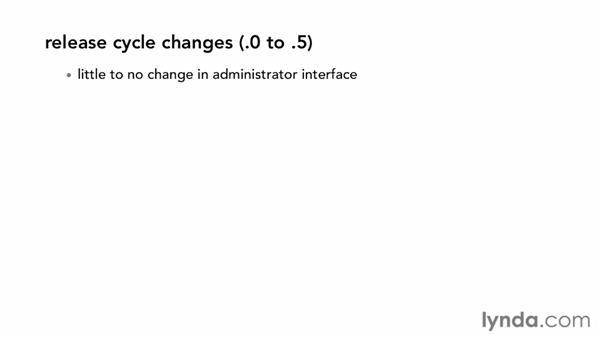 Understanding Joomla's release cycle and versions: Joomla! 3 Essential Training