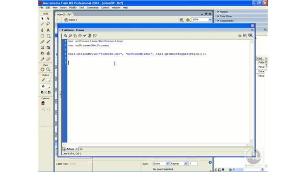exercise: video 1: ActionScript 2.0 Essential Training