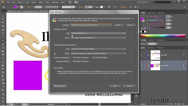 Understanding the color-managed workflow: Illustrator CS6 One-on-One: Advanced