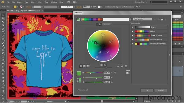 Expanding on an existing harmony rule: Illustrator CS6 One-on-One: Advanced