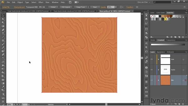 Applying attributes in the Appearance panel: Illustrator CS6 One-on-One: Advanced