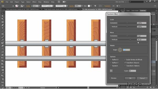 Duplicating entire groups of attributes: Illustrator CS6 One-on-One: Advanced