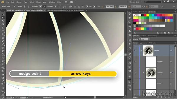 Adjusting and updating a dynamic effect: Illustrator CS6 One-on-One: Advanced