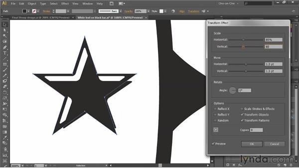 Creating beveled ornaments: Illustrator CS6 One-on-One: Advanced