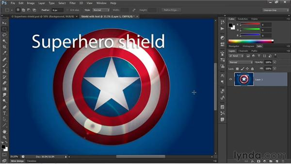 Two ways to rasterize vector art for Photoshop: Illustrator CS6 One-on-One: Advanced