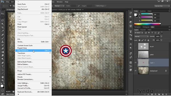 Importing vector art as a Smart Object: Illustrator CS6 One-on-One: Advanced