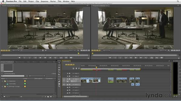 Maintaining clear continuity between clips: Narrative Scene Editing with Premiere Pro