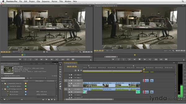 Cutting on action: Narrative Scene Editing with Premiere Pro