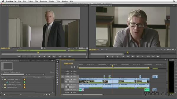 Refining the dialogue scene: Narrative Scene Editing with Premiere Pro
