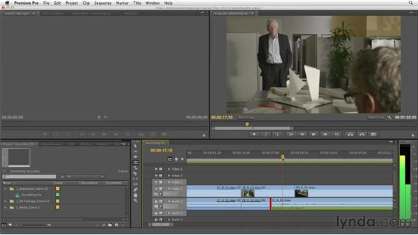 Smoothing dialogue: Narrative Scene Editing with Premiere Pro