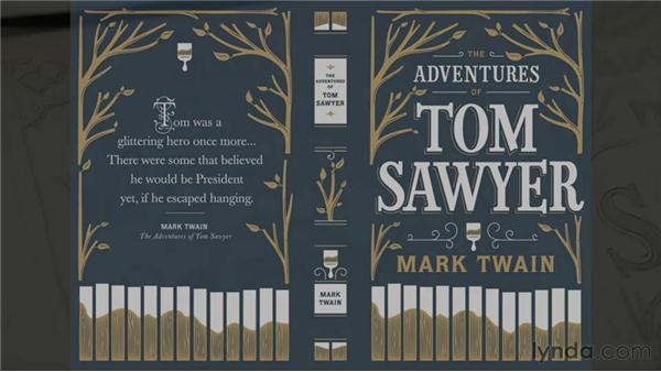 Jessica's book design projects: The Creative Spark: Title Case, Typographic Artisans