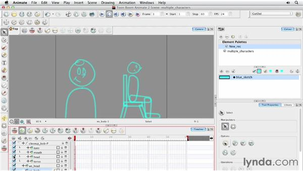 Creating multiple versions of one character: Animating Characters in Toon Boom Animate