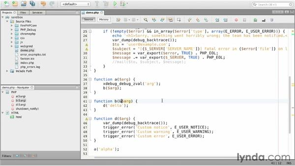 Displaying variables with Xdebug: Debugging PHP: Advanced Techniques
