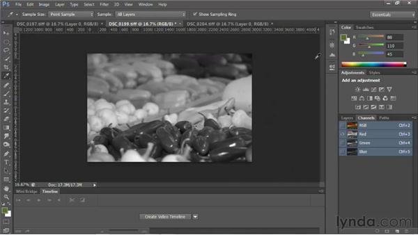 Understanding image mode: Photoshop for Video Editors: Core Skills