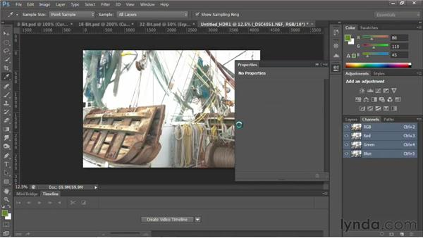 Understanding bit depth: Photoshop for Video Editors: Core Skills