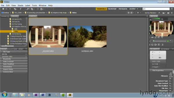 Sending footage to Photoshop: Photoshop for Video Editors: Core Skills