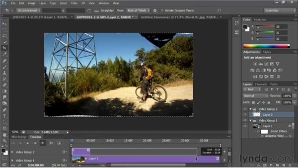 Rendering the video for the NLE: Photoshop for Video Editors: Core Skills