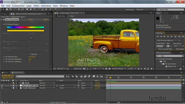 Advanced secondary color correction with After Effects: Photoshop for Video Editors: Core Skills